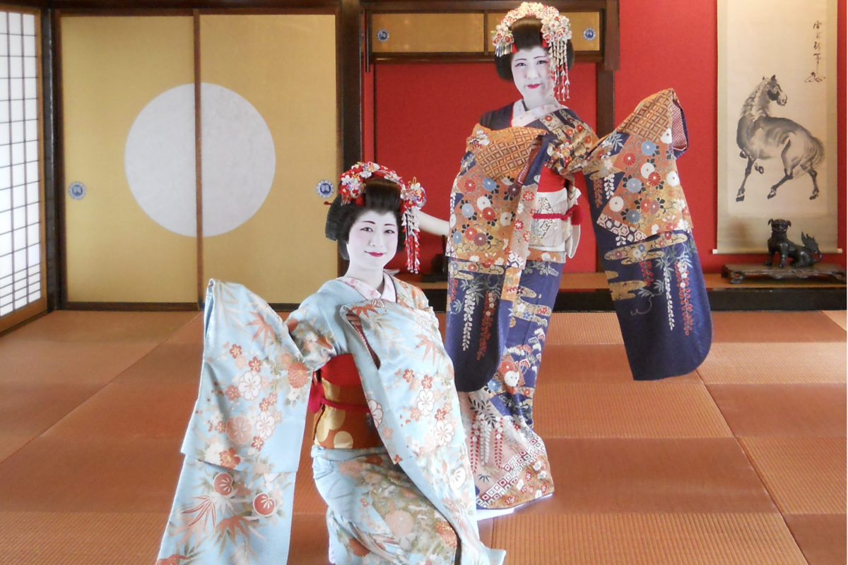 Sakata Maiko Dance Performance2